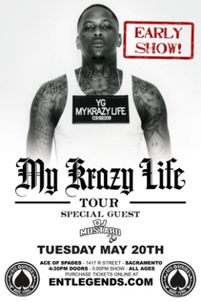 YG & DJ Mustard Live at Ace of Spades May 20 [Early Show]