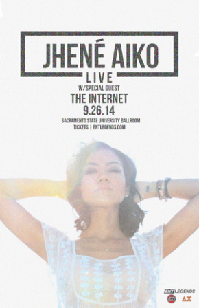 EVENT: Jhené Aiko with The Internet Live at Union Ballroom Sept. 26